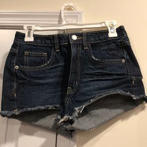 COPY - Mossimo Ladies High Rise Frayed Jean Short…